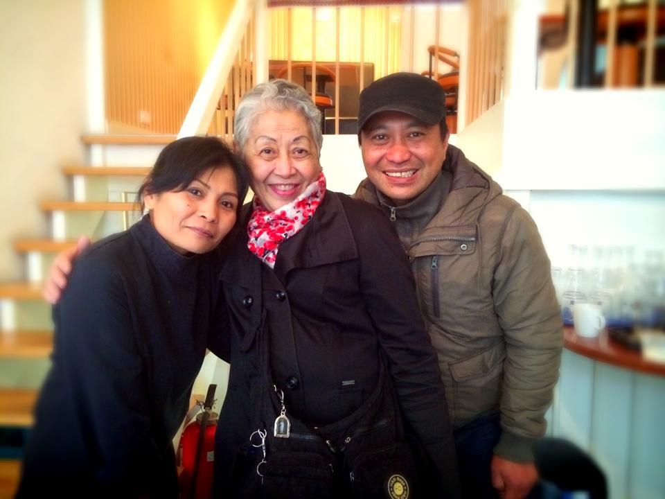 Hengky Supit en Tante indo
